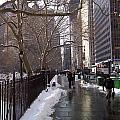 Mark Victors - Winter Sidewalk City Hall