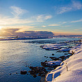 Peta Thames - Winter Sunset in Iceland