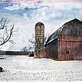 Cheryl Cencich - Winters day barn