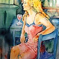 Trudi Doyle - Woman waiting