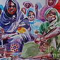 Mohamed Fadul - Women gathered to...