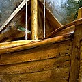 Evie Carrier - Wooden Mackinaw Boat