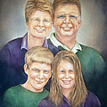 Nan Wright - Wright Family Portrait