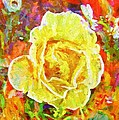 Alice Gipson - Yellow Rose In Colores