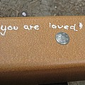 Manuel Matas - You Are Loved graffiti