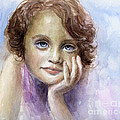 Svetlana Novikova - Young girl child...