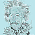 D Whitehurst - Albert Einstein Portrait