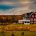 Chantal PhotoPix - A Red Farmhouse in a...