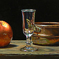 Jeffrey Hayes - Apple Glass Copper