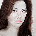 Jim Fitzpatrick - Asian Model with Freckles
