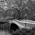 Christiane Schulze - Bow Bridge NYC In Black...
