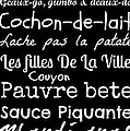 Susan Bordelon - Cajun French Sayings