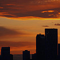 James Bryron Love - Calgary Sunset in April