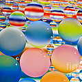 Tracy  Hall - Color Oil Bubbles