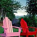 Sally Weigand - colorful Adirondack...