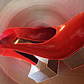 Colette Hera  Guggenheim - Dancing Red Shoe