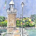 Carol Wisniewski - Desanzano Lighthouse and...