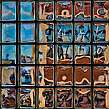 Chris Lord - Glass Brick Abstract