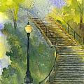 John Meng-Frecker - Grotto Stairs