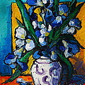 MONA EDULESCO - Emona Art - Irises
