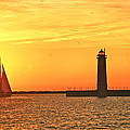 Michael Peychich - Muskegon Sunset