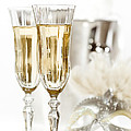 Christopher and Amanda Elwell - New Year Champagne