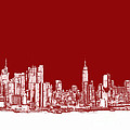 Lee-Ann Adendorff - NYC in red n white