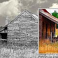 Fran Woods - Old cottage diptych 2
