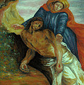 Pamela Humbargar - Pieta after Delacroix