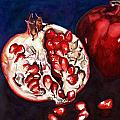 Mary C Farrenkopf  - Pomegranate Study Number...