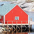 Kathleen Struckle - Red Boathouse