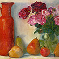 Elizabeth B Tucker  - Red Pitcher