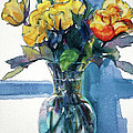Kathy Braud - Roses in Vase Still Life...
