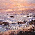 R W Goetting - Morning breeze in Cambria