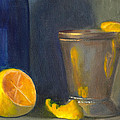 Elizabeth B Tucker  - Silver Cup with Lemon