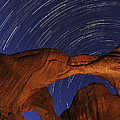 Craig Ratcliffe - Star trails over Double...