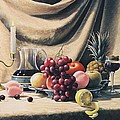 Oleg Bylgakov - Still Life on a gold
