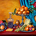 Roxana Paul - Still life with fruit