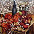 Vladimir Kezerashvili - Still LIfe with Peaches...