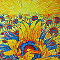 Ana Maria Edulescu - Sunflowers Field In...