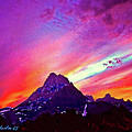 Bob and Nadine Johnston - Sunset Over the Sierras