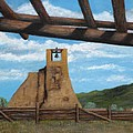 Gordon Beck - Taos Pueblo Church Ruins