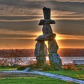 Lawrence Christopher - The Inukshuk At English...