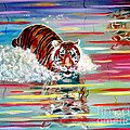 Phyllis Kaltenbach - Tigers Crossiing