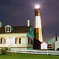 Patrick M Lynch - Tybee Light on Rainy...