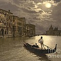 Padre Art - Venice Grand Canal by...