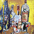 Lisa Kramer - Whimsical Wine Bottles
