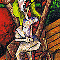 Kamil Swiatek - Woman on Wooden Chair