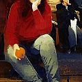 RC deWinter - Woman with An Orange