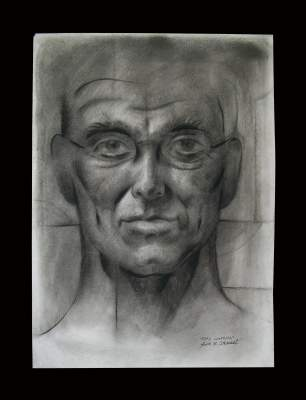 Faces or Portraits Done in Charcoal
